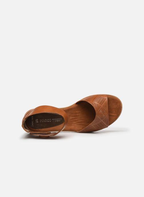 Sandali e scarpe aperte Marco Tozzi MUJDA Marrone immagine sinistra
