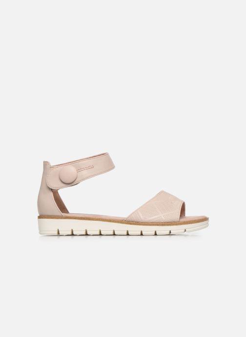 Sandales et nu-pieds Marco Tozzi MUJDA Rose vue derrière