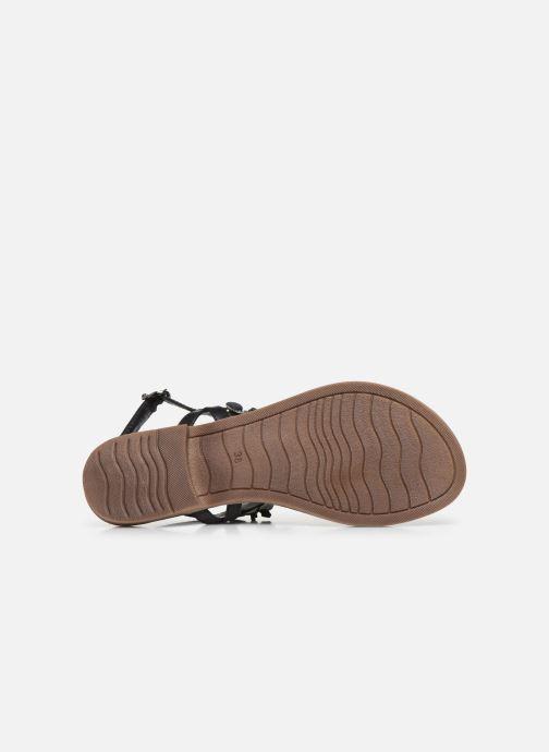 Sandali e scarpe aperte Marco Tozzi MARYL Nero immagine dall'alto