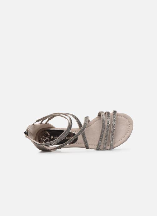 Sandales et nu-pieds Marco Tozzi MAYAS Beige vue gauche