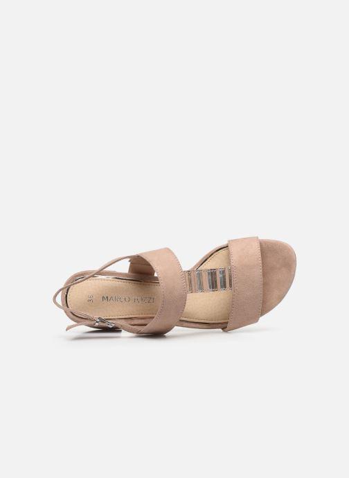 Sandales et nu-pieds Marco Tozzi MAXIE Beige vue gauche