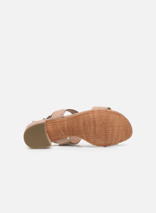 Sandales et nu-pieds Marco Tozzi MAXIE Beige vue haut