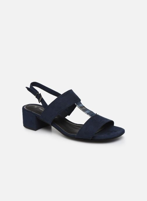 Marco Tozzi MAXIE (Bleu) Sandales et nu pieds chez Sarenza