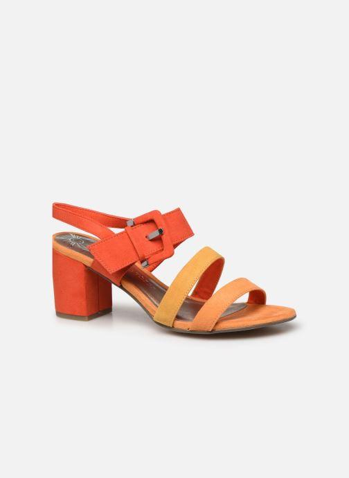 Sandales et nu-pieds Marco Tozzi MATY Orange vue détail/paire