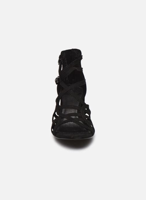 Sandali e scarpe aperte Marco Tozzi MAWA Nero modello indossato