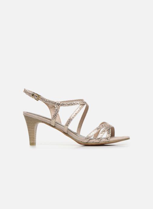 Sandales et nu-pieds Marco Tozzi MARLI Or et bronze vue derrière