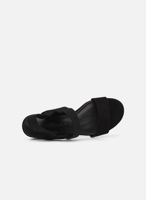 Sandali e scarpe aperte Marco Tozzi MALOU Nero immagine sinistra