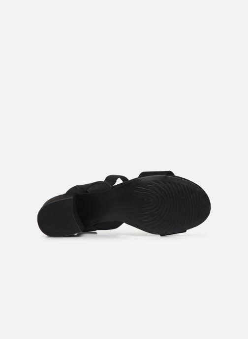 Sandali e scarpe aperte Marco Tozzi MALOU Nero immagine dall'alto