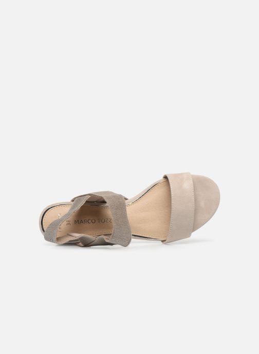 Sandales et nu-pieds Marco Tozzi MALOU Beige vue gauche