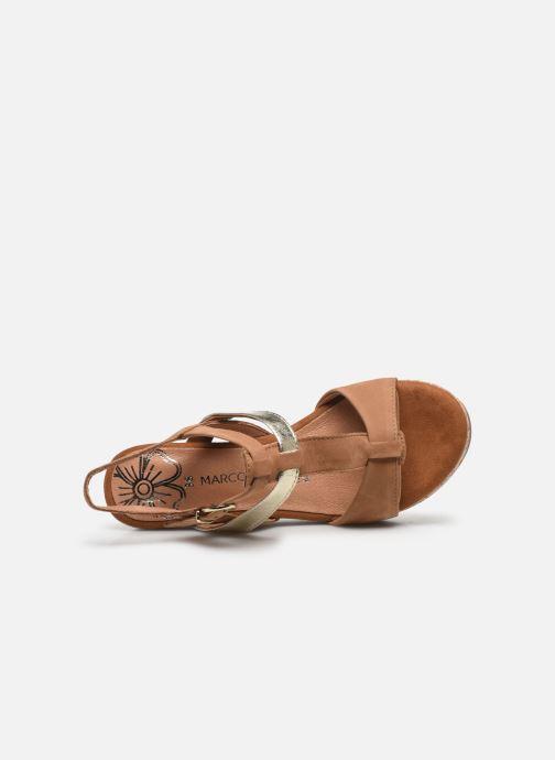Sandales et nu-pieds Marco Tozzi MAME Marron vue gauche