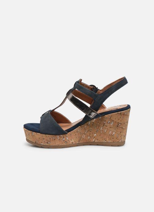 Sandali e scarpe aperte Marco Tozzi MAME Azzurro immagine frontale