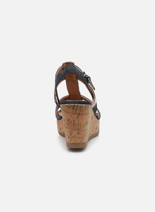 Sandali e scarpe aperte Marco Tozzi MAME Azzurro immagine destra