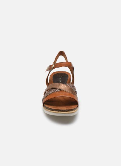 Sandali e scarpe aperte Marco Tozzi MARIDZA Marrone modello indossato