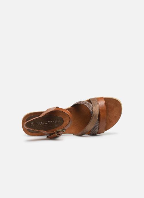 Sandali e scarpe aperte Marco Tozzi MARIDZA Marrone immagine sinistra