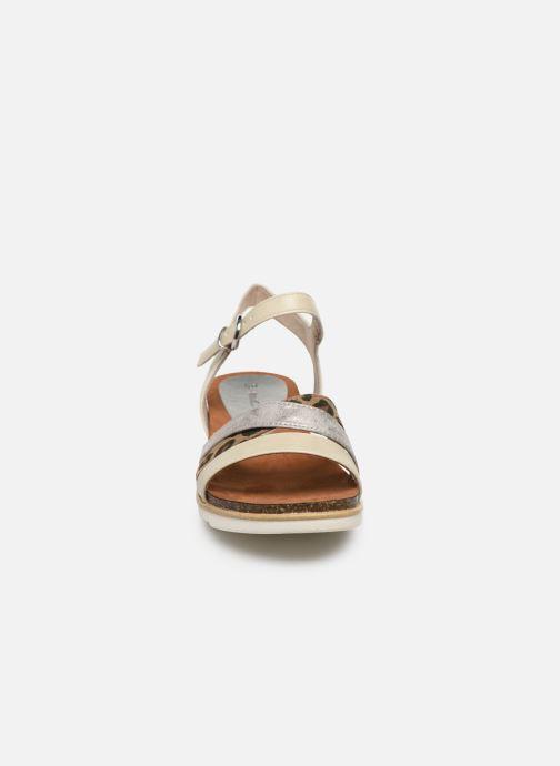 Sandales et nu-pieds Marco Tozzi MARIDZA Beige vue portées chaussures