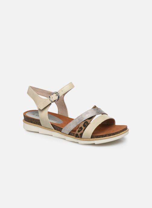 Sandales et nu-pieds Marco Tozzi MARIDZA Beige vue détail/paire