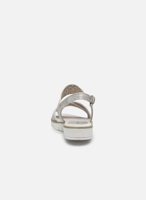 Sandali e scarpe aperte Marco Tozzi MEGUY Argento immagine destra