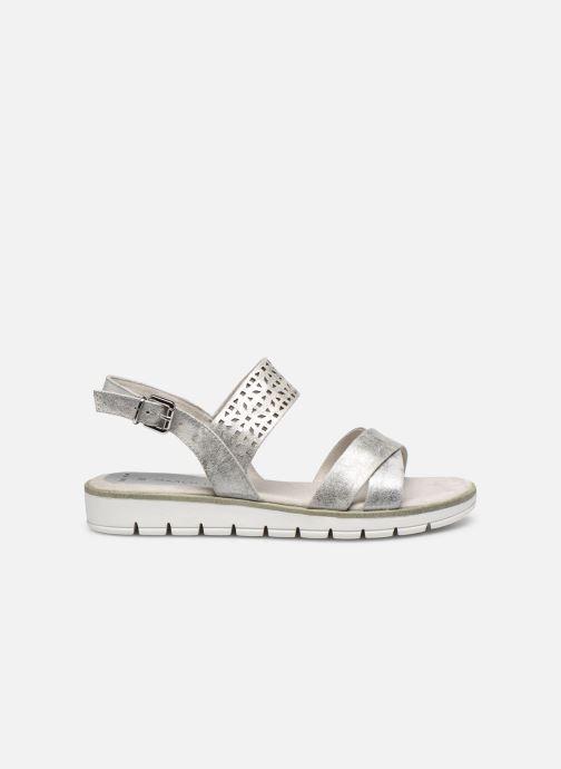 Sandales et nu-pieds Marco Tozzi MEGUY Argent vue derrière