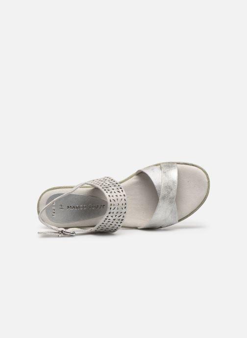 Sandali e scarpe aperte Marco Tozzi MEGUY Argento immagine sinistra