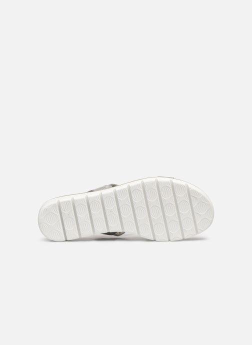 Sandales et nu-pieds Marco Tozzi MEGUY Argent vue haut