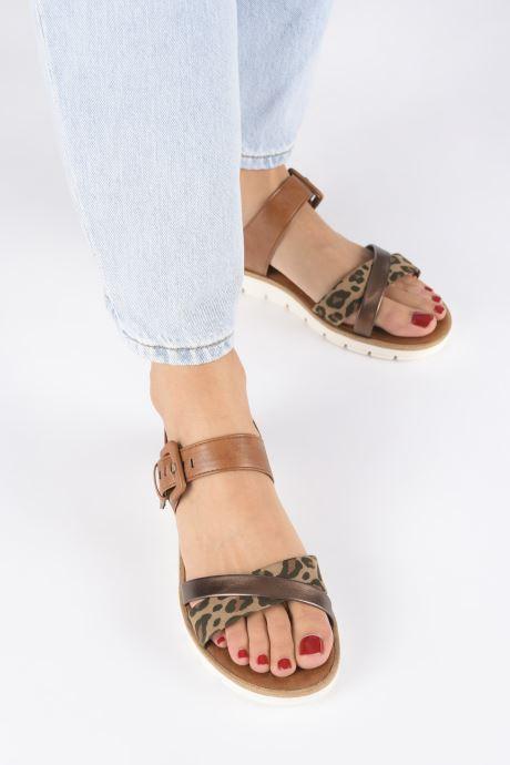 Sandali e scarpe aperte Marco Tozzi MERONE Marrone immagine dal basso