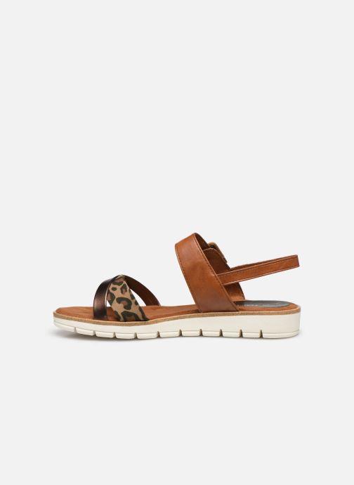 Sandali e scarpe aperte Marco Tozzi MERONE Marrone immagine frontale