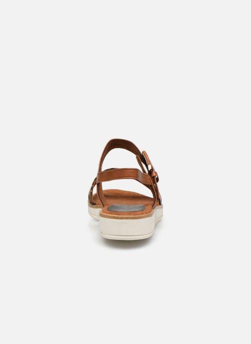 Sandali e scarpe aperte Marco Tozzi MERONE Marrone immagine destra