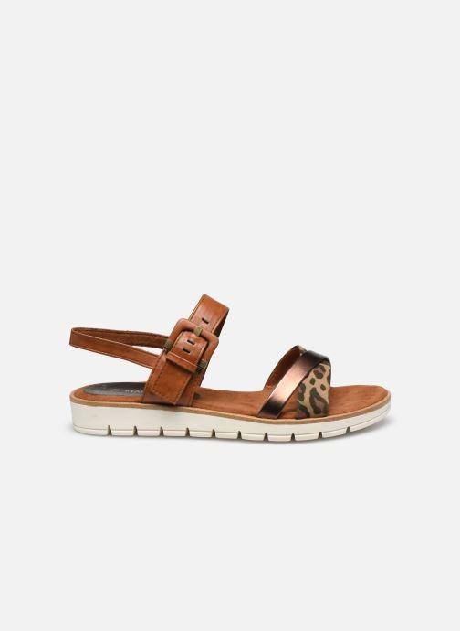 Sandali e scarpe aperte Marco Tozzi MERONE Marrone immagine posteriore