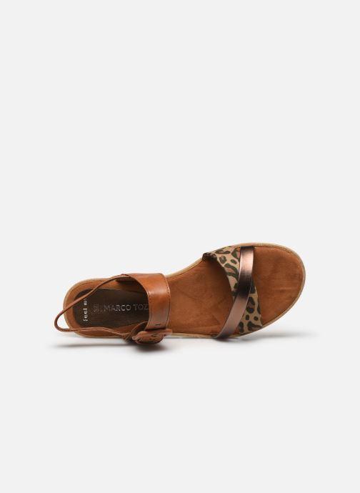Sandali e scarpe aperte Marco Tozzi MERONE Marrone immagine sinistra