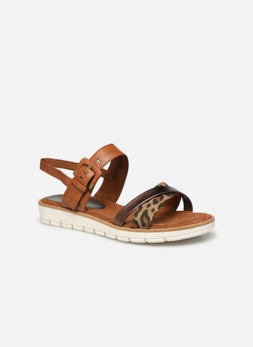 Sandales et nu-pieds Marco Tozzi MERONE Marron vue détail/paire