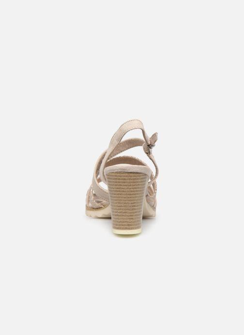 Sandali e scarpe aperte Marco Tozzi MERIEM Beige immagine destra