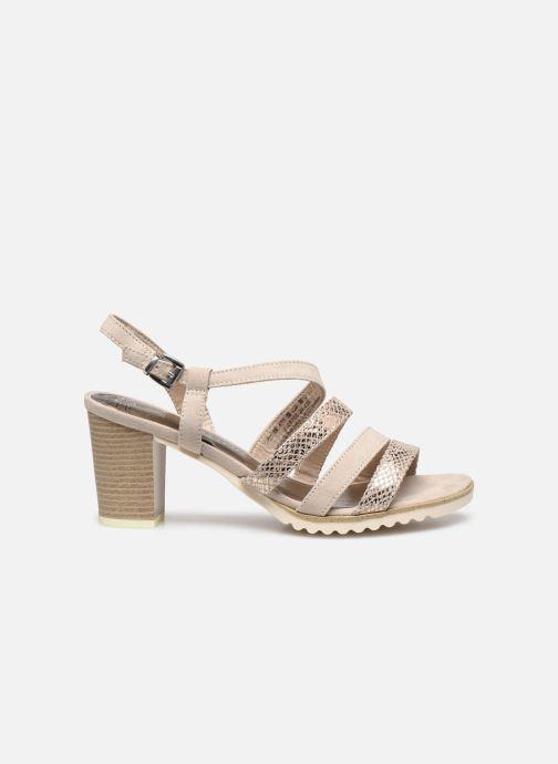 Sandali e scarpe aperte Marco Tozzi MERIEM Beige immagine posteriore