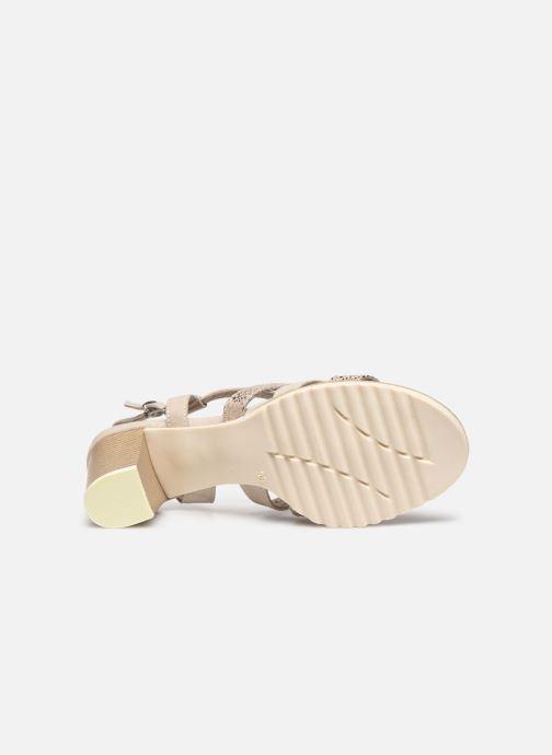 Sandali e scarpe aperte Marco Tozzi MERIEM Beige immagine dall'alto