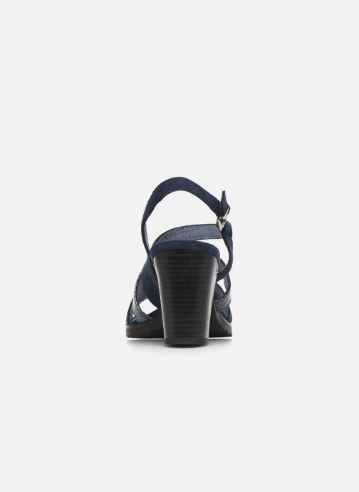 Marco Tozzi MERIEM (Bleu) Sandales et nu pieds chez
