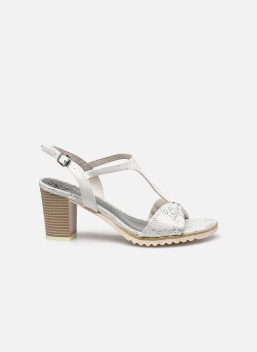 Sandali e scarpe aperte Marco Tozzi MERCAN Argento immagine posteriore