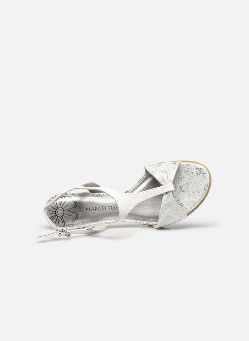Sandali e scarpe aperte Marco Tozzi MERCAN Argento immagine sinistra