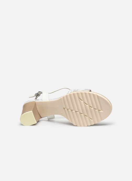 Sandali e scarpe aperte Marco Tozzi MERCAN Argento immagine dall'alto