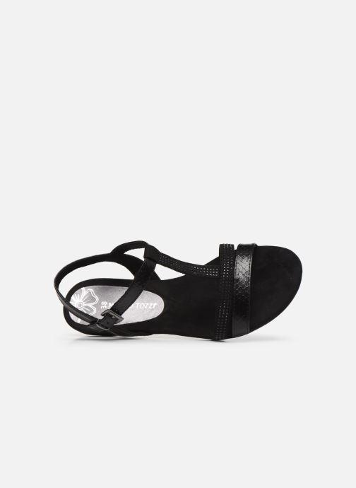 Sandales et nu-pieds Marco Tozzi MUTLU Noir vue gauche
