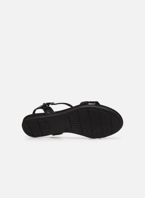 Sandales et nu-pieds Marco Tozzi MUTLU Noir vue haut
