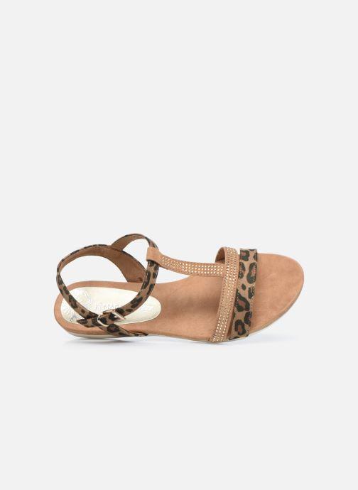 Sandali e scarpe aperte Marco Tozzi MUTLU Marrone immagine sinistra