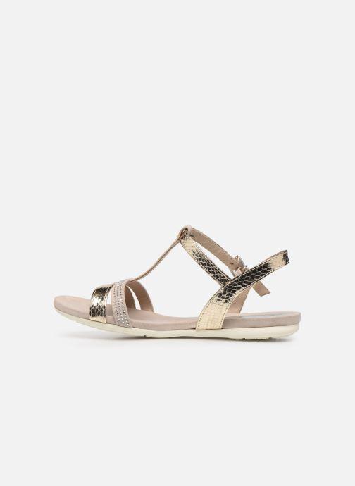 Sandali e scarpe aperte Marco Tozzi MUTLU Oro e bronzo immagine frontale