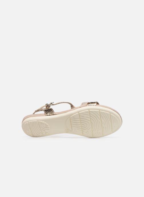 Sandali e scarpe aperte Marco Tozzi MUTLU Oro e bronzo immagine dall'alto