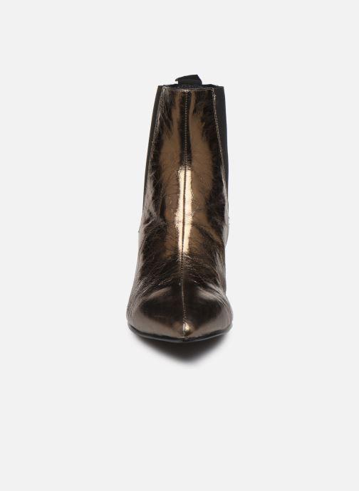 Bottines et boots Vagabond Shoemakers WHITNEY 4818-083-85 Or et bronze vue portées chaussures