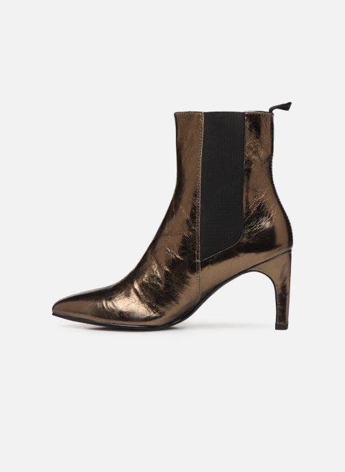 Bottines et boots Vagabond Shoemakers WHITNEY 4818-083-85 Or et bronze vue face
