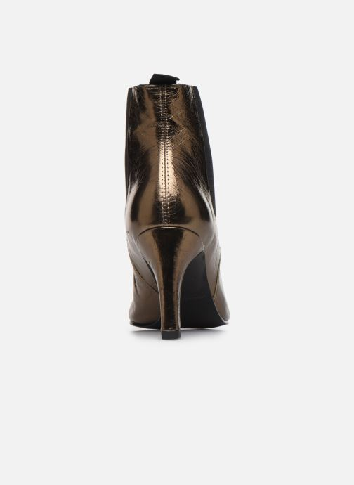 Bottines et boots Vagabond Shoemakers WHITNEY 4818-083-85 Or et bronze vue droite
