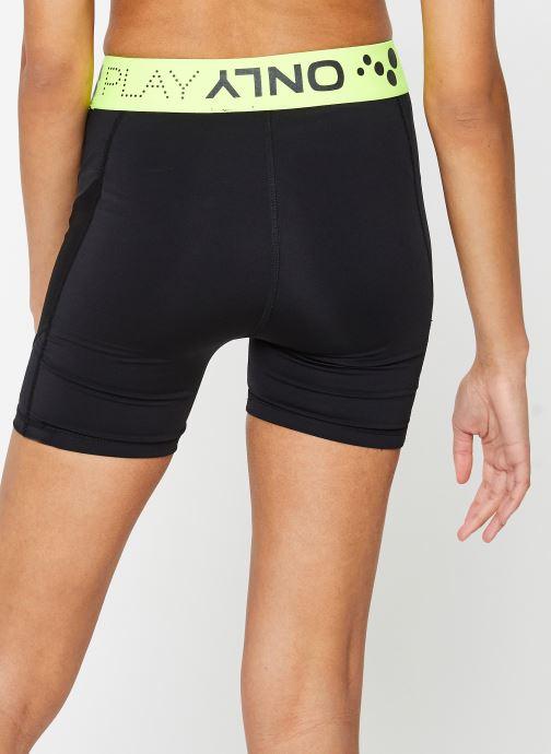 Vêtements Only Play Onpalix Hw Shape Up Training Shorts Noir vue portées chaussures