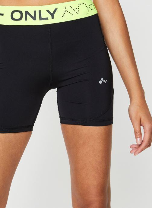 Vêtements Only Play Onpalix Hw Shape Up Training Shorts Noir vue face