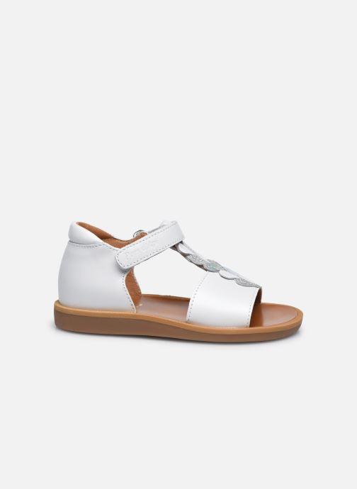 Sandali e scarpe aperte Pom d Api Poppy Ferns Bianco immagine posteriore