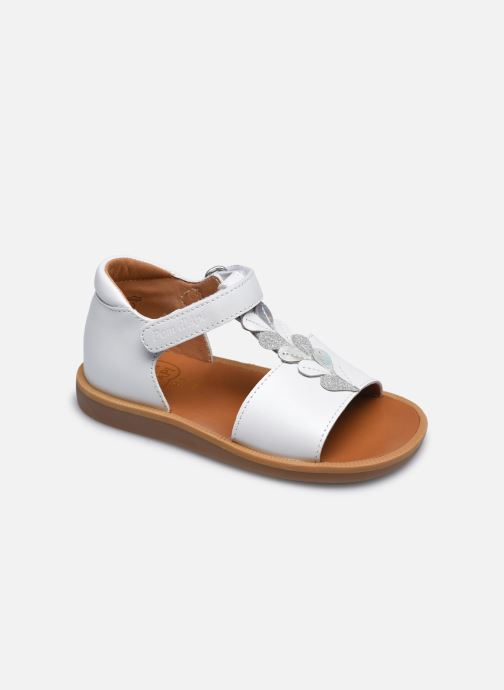Sandali e scarpe aperte Pom d Api Poppy Ferns Bianco vedi dettaglio/paio