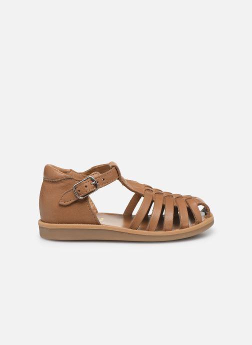 Sandales et nu-pieds Pom d Api Poppy Pitti Marron vue derrière